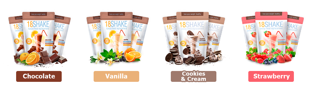 Choose Your 18Shake Flavor